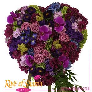Amethyst Heart Premium Tribute