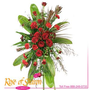 Standing Sprays from Rose of Sharon Florist
