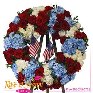 Patriot's Standing Wreath