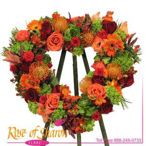 Gabriel Heart Wreath